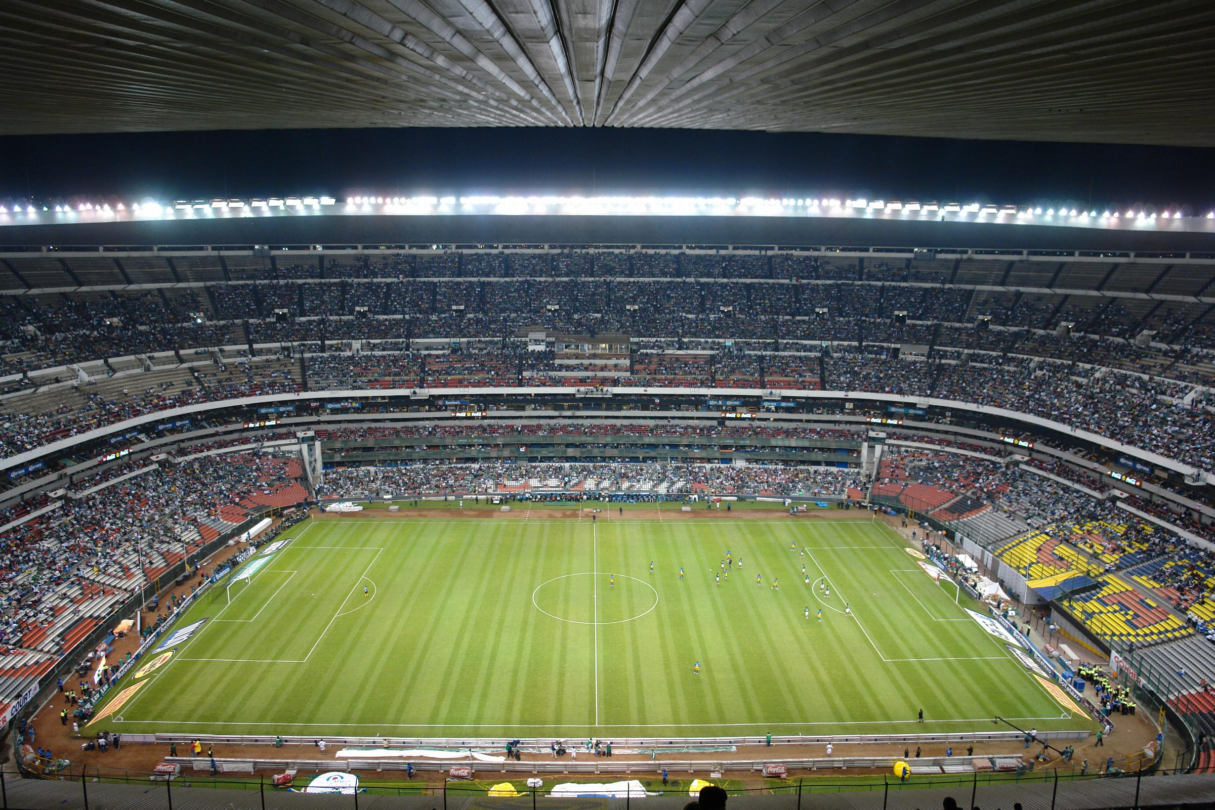 Theatre of Stadiums [licensed for non-commercial use only] / Estadio Azteca