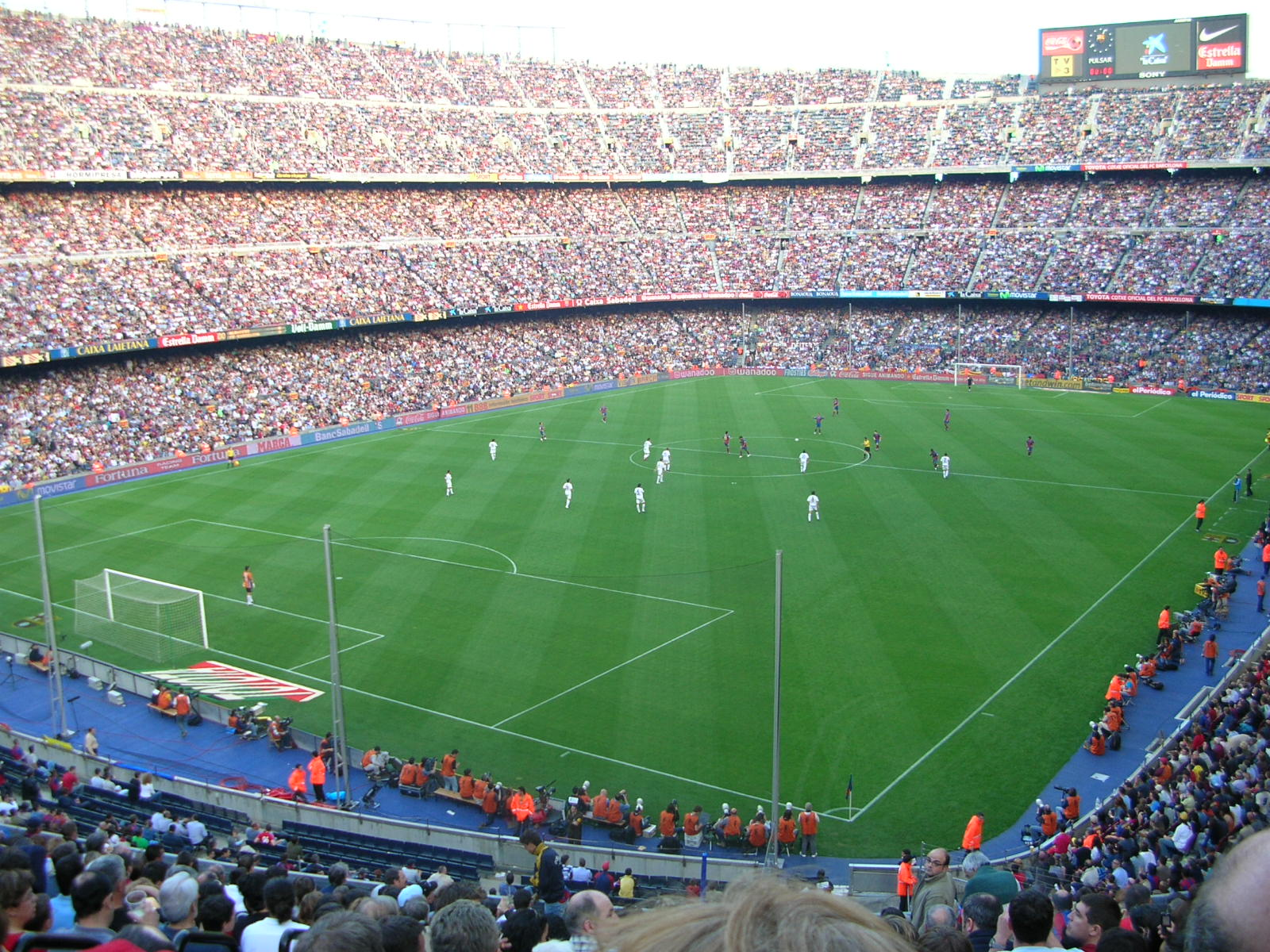 Theatre of Stadiums [licensed for non-commercial use only] / Camp Nou